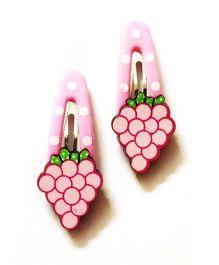 Akinos Kids Grape Fruit Tic Tac Clip - Pink