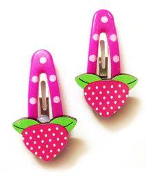 Akinos Kids Berry Fruit Tic Tac Clip - Pink