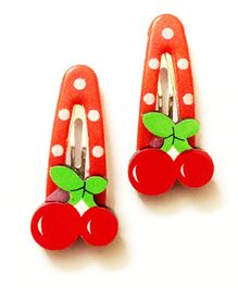 Akinos Kids Cherry Fruit Tic Tac Clip - Red