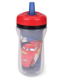 The First Years Disney Pixar Cars Insulated Straw Cup Red Blue - 266 ml