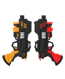 Rayshot Interactive Pair Of Toy Guns - Red & Orange