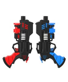 Rayshot Interactive Pair Of Toy Guns - Red & Blue
