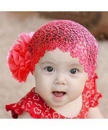 Dazzling Dolls Pretty Baby Head Band Red
