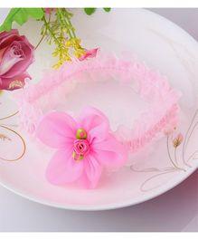 Dazzling Dolls Elegant Floral Head Band - Pink