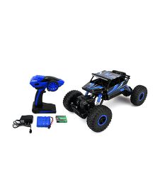 The Flyers Bay Rock Crawler 4WD Remote Controlled Rally Car - Blue