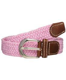 One Friday Braided Belt - Pink