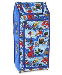 Lovely Novelty Multipurpose Almirah Animal Print - Blue