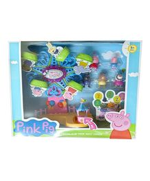 Peppa Pig My Little Buddy Giant Wheel With 7 Figures - Multicolour
