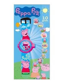 Peppa Pig Projector Watch - Blue Pink