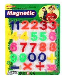 DealBindaas Magnetic Numbers - Multi Color