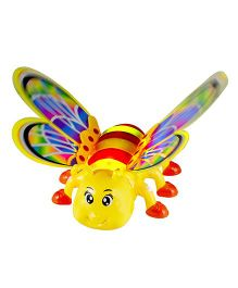 DealBindaas Bee Butterfly Light Music Projection - Multi-Color