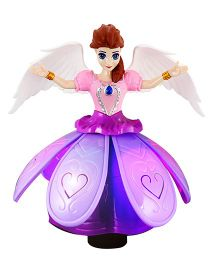 DealBindaas Angel Doll Music Light Projection - Multi-Color