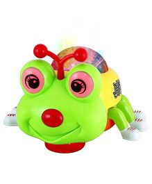 DealBindaas Bee Projecting Light Music Toy - Green
