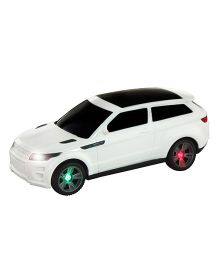 DealBindaas Battery Operated Car - White (Color May Vary)