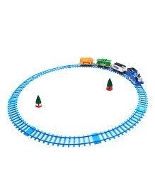 DealBindaas Remote Control Train Track Set - Blue