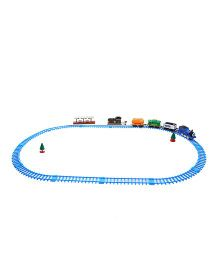 DealBindaas Train Bogies And Track Pack - Multicolor