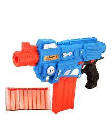 DealBindaas Toy Speed Gun With Shots - Blue