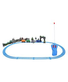 DealBindaas Remote Controlled Train Bogies With Track - Multicolour