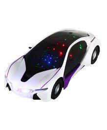 DealBindaas Roadster Car - White