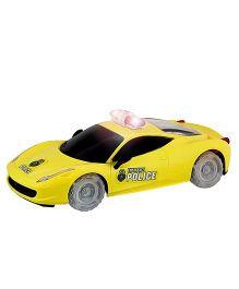 DealBindaas Super Cop Car - Yellow