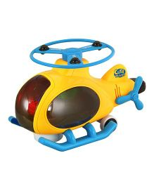 DealBindaas 3D Helicopter - Yellow Blue