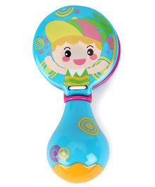 Sunny Castanets Rattle - Blue