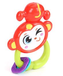 Sunny Shaking Bell Zodiac Rattle - Red