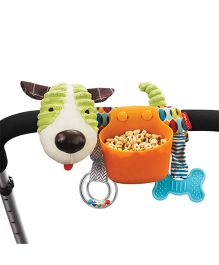 Skiphop Puppy Shape Stroller Snack Holder - Multi Color