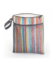 Skiphop Grab & Go Wet Dry Bag Strips Print - Multi Color