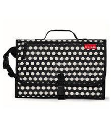 Skiphop Pronto Mini Changer Polka Dots Print - Black White
