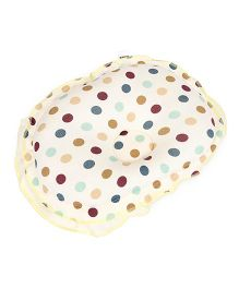 Mee Mee Polka Dot Pillow - Cream