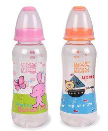 Mee Mee Feeding Bottles Pack of 2 Pink Orange - 250 ml