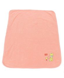 Mee Mee Towel MM-1570 Peach (Applique Design May Vary)