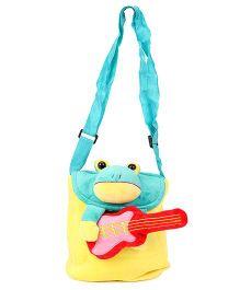 Wow Kiddos Guitar Monster Side Sling Bag - Yellow