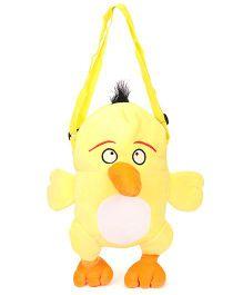 Wow Kiddos Bird Side Sling Bag - Yellow