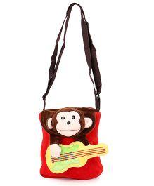 Wow Kiddos Guitar Side Sling Bag - Red