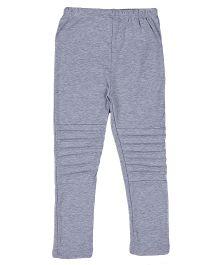 Aww Hunnie Patterned Legging - Grey