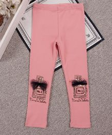 Aww Hunnie Laced Number 1 Legging - Pink