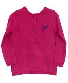 Bella Moda Front Open Cardigan - Pink