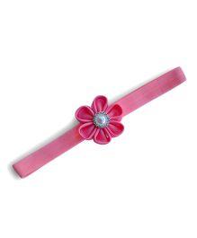 Little Miss Cuttie Pritty Flower Headband - Pink