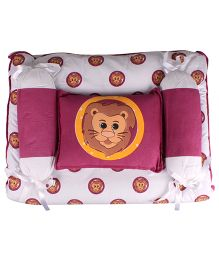 Beebop Lion Print Bedset - Purple