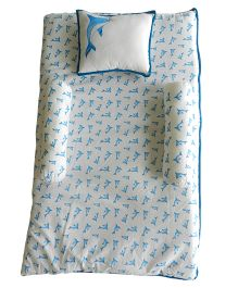 Beebop Dolphin Bedset - Blue