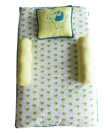 Beebop Elephant Bedset - Yellow