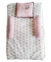 Beebop Elephant Bedset - Pink