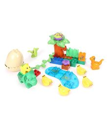 Toymaster Dinosaur Valley Blocks Multicolor - 43 Pieces