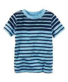 Carter's Striped Tee - Blue Navy