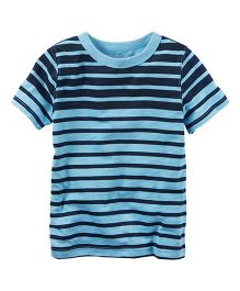 Carter's Striped Tee - Navy Blue