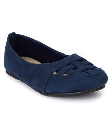 Bee Bee Pretty & Elegant Shoes - Navy Blue