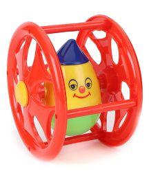 Smart Picks Anmol Rolling Humpty Dumpty Rattle - Red