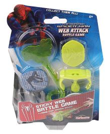 Majorette Spider-Man Web Attack Battle Game - Green